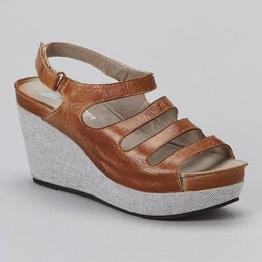 Antelope 963 Leather Wedge Sandals