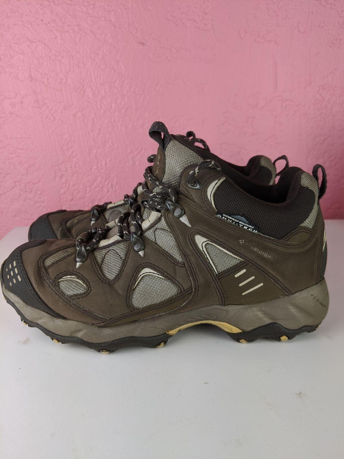 Columbia waterproof hiking boots women's
