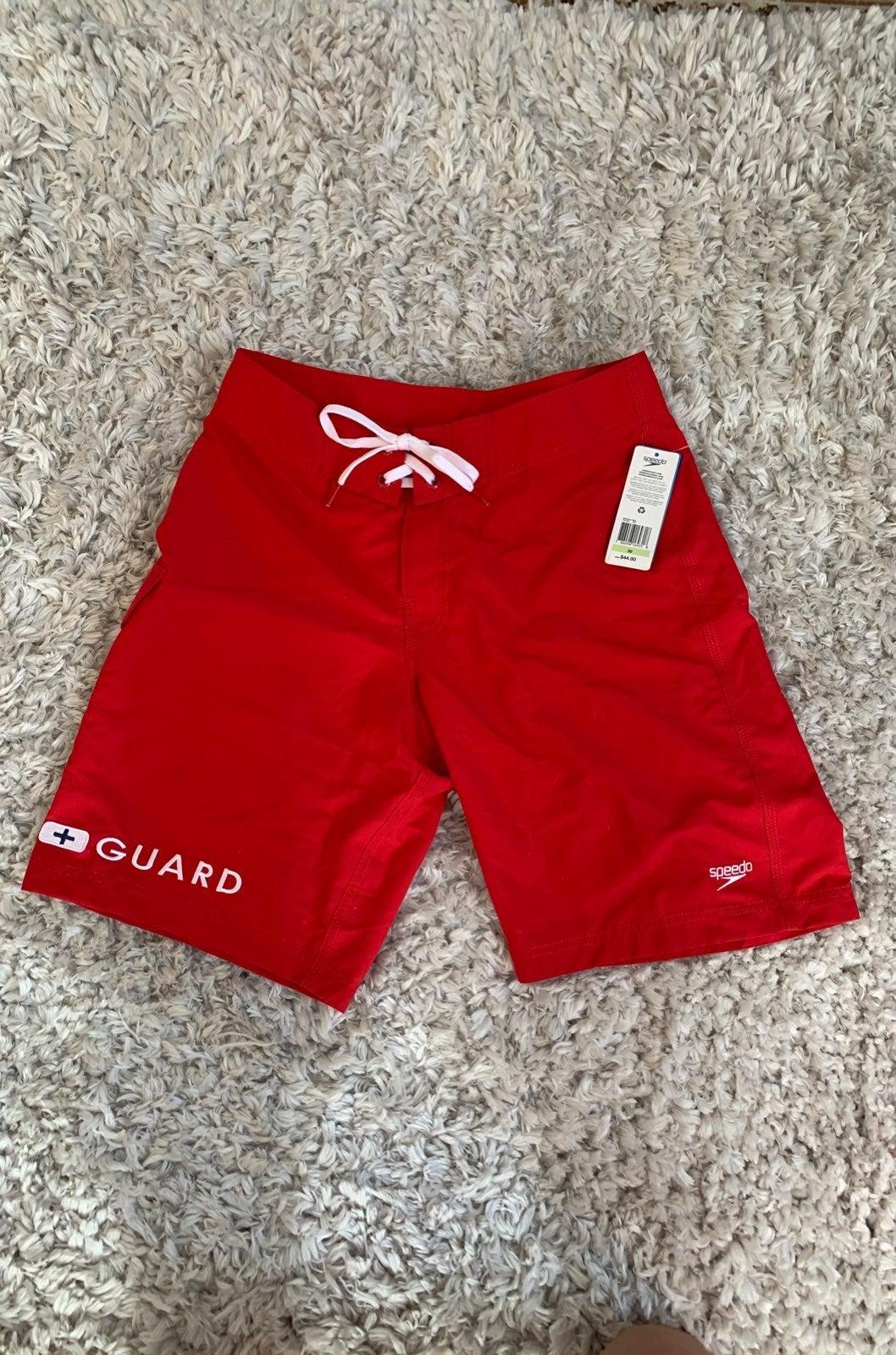 Speedo men's lifeguard swimsuit