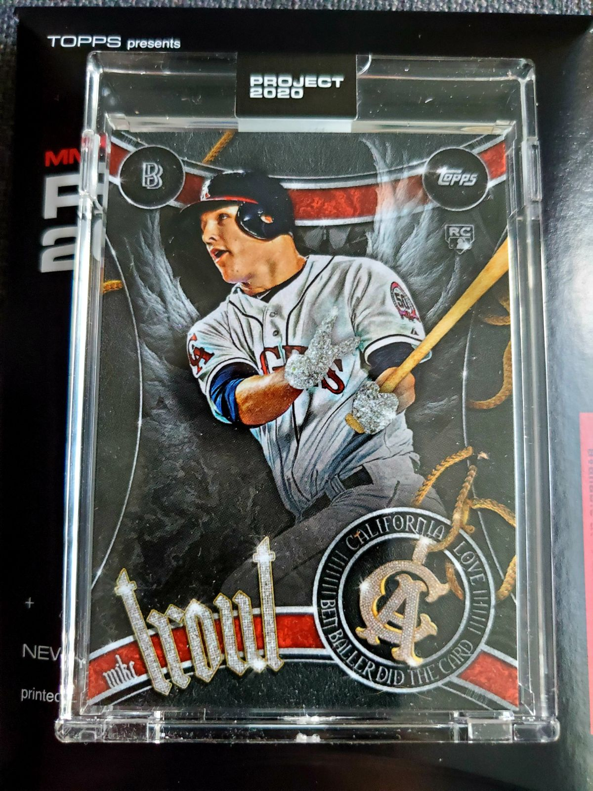 Mike Trout Ben Baller Topps Project 2020