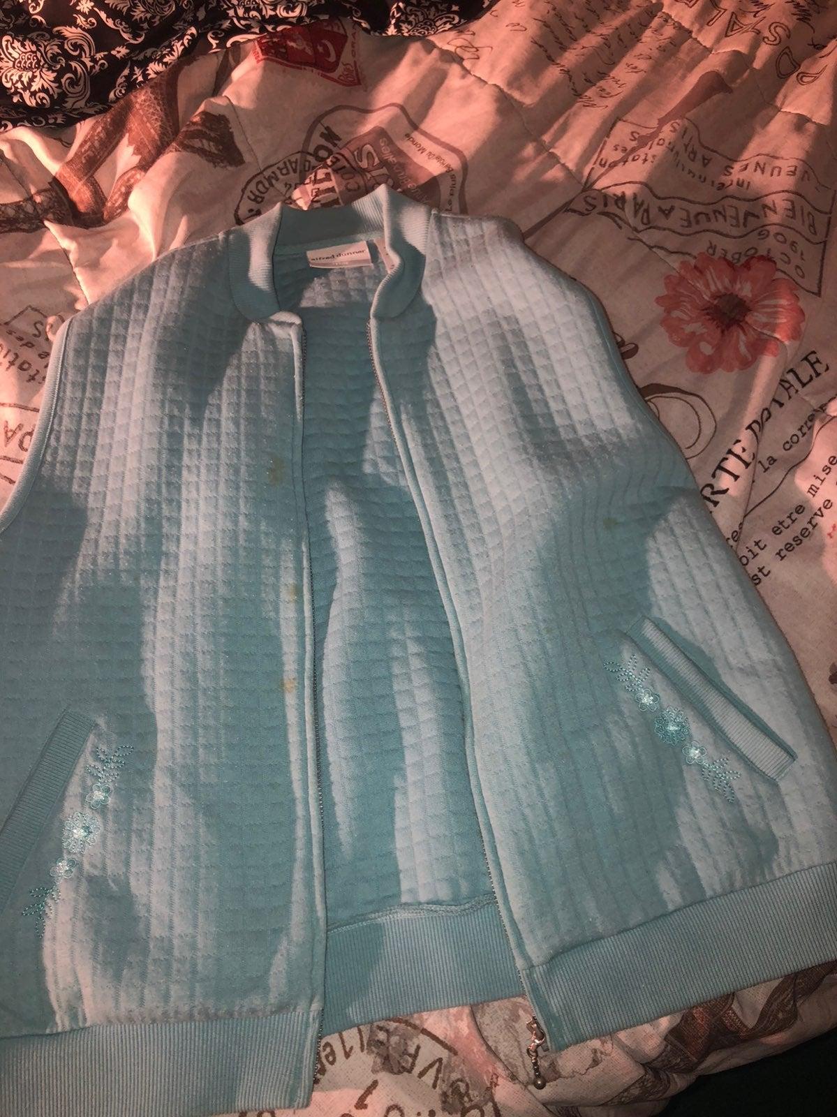 Cute blue vest
