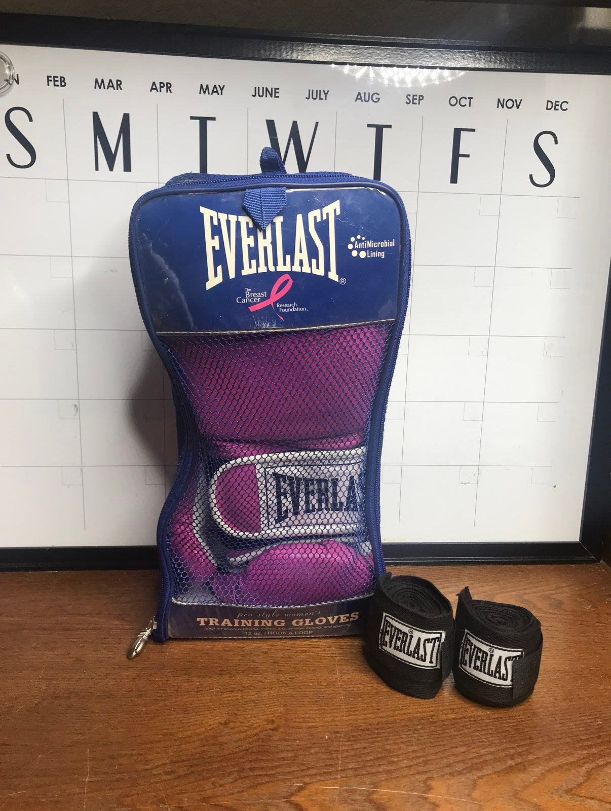 Everlast Boxing Gloves / The Breast canc