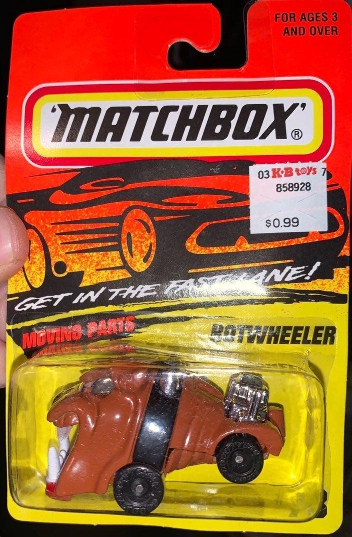 Matchbox Rotwheeler