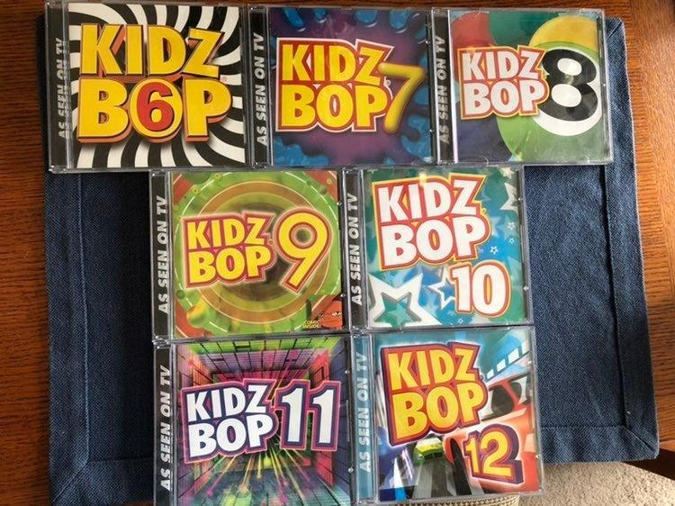 Kidz Bop Cd's 6-12