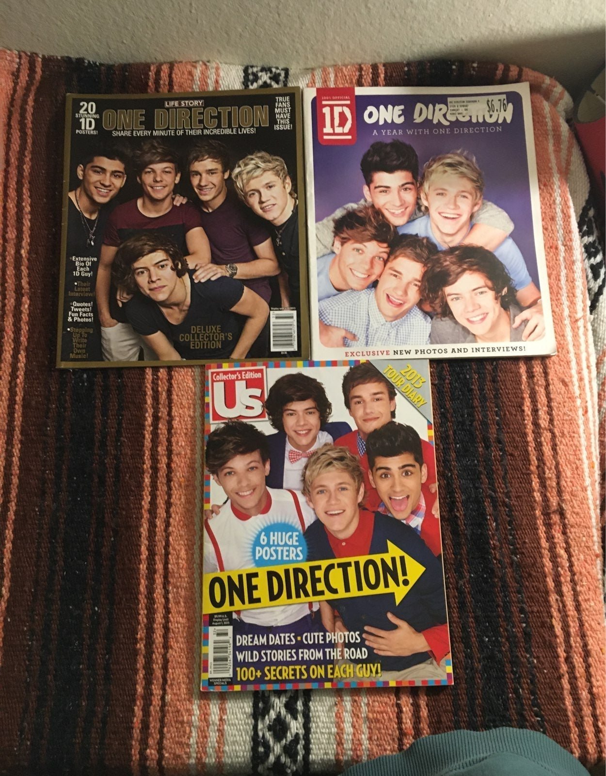 One direction Magazines