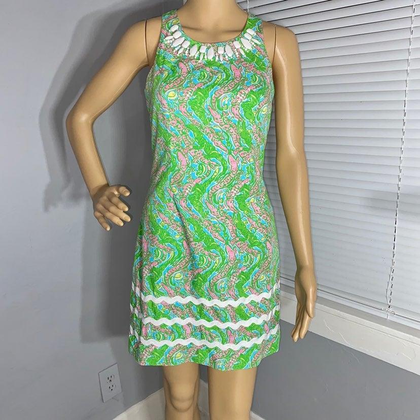 Lilly Pulitzer Printed Shift Dress XS