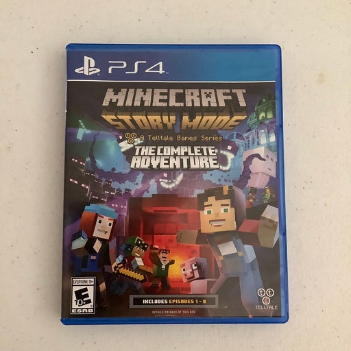 Minecraft: Story Mode PlayStation 4 PS4