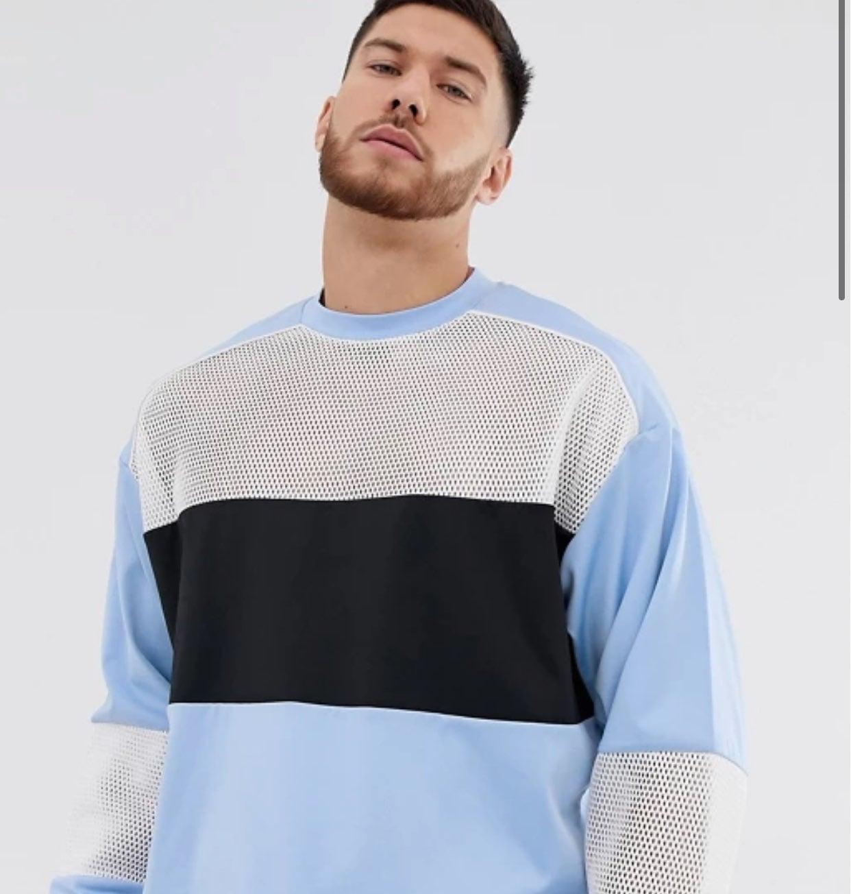 ASOS Mens Crewneck Sweatshirt