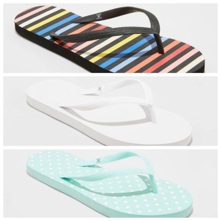 Shade & Shore Brynn Sandals Bundle 8