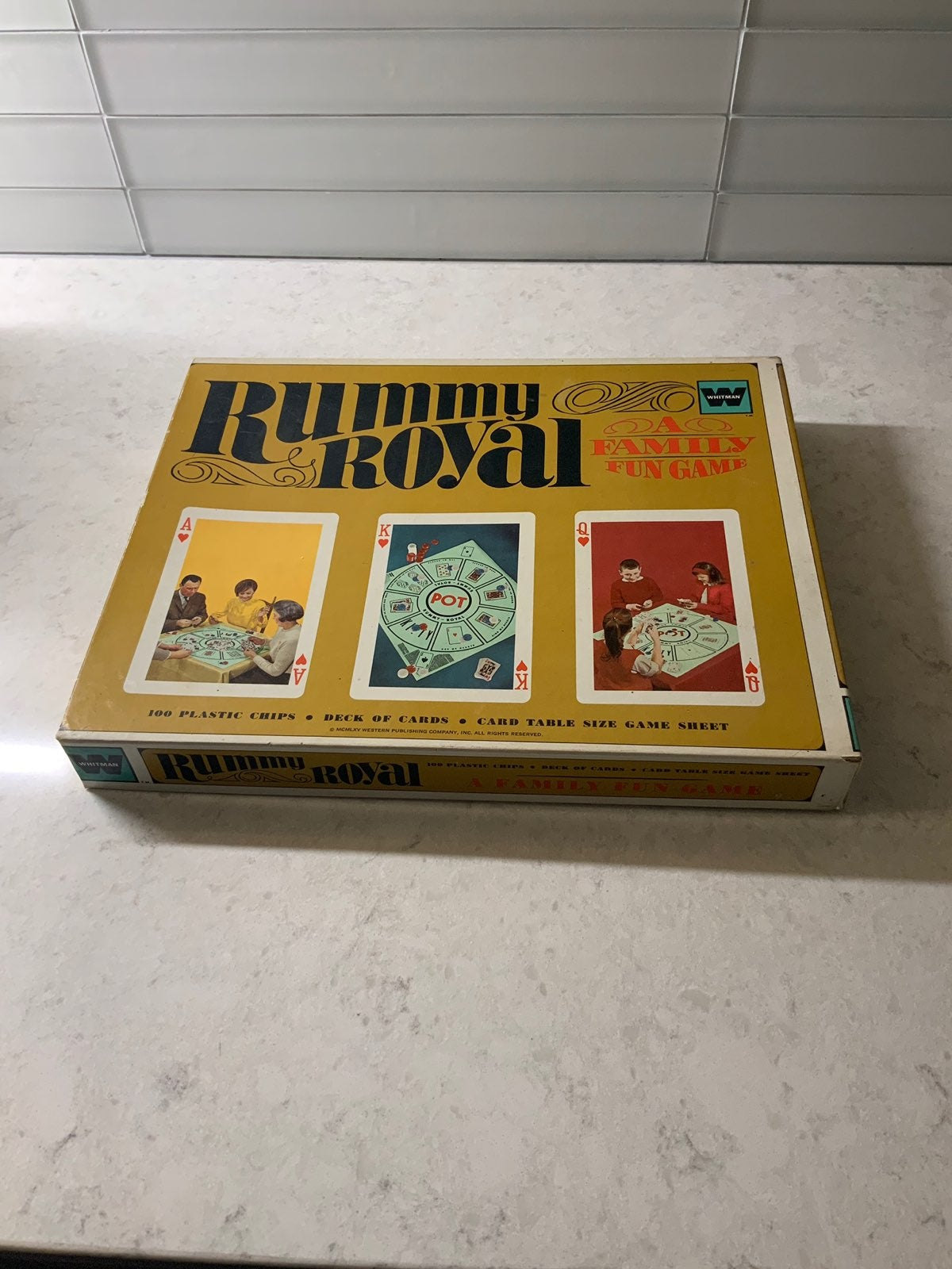 Vintage Rummy Royal Card Game