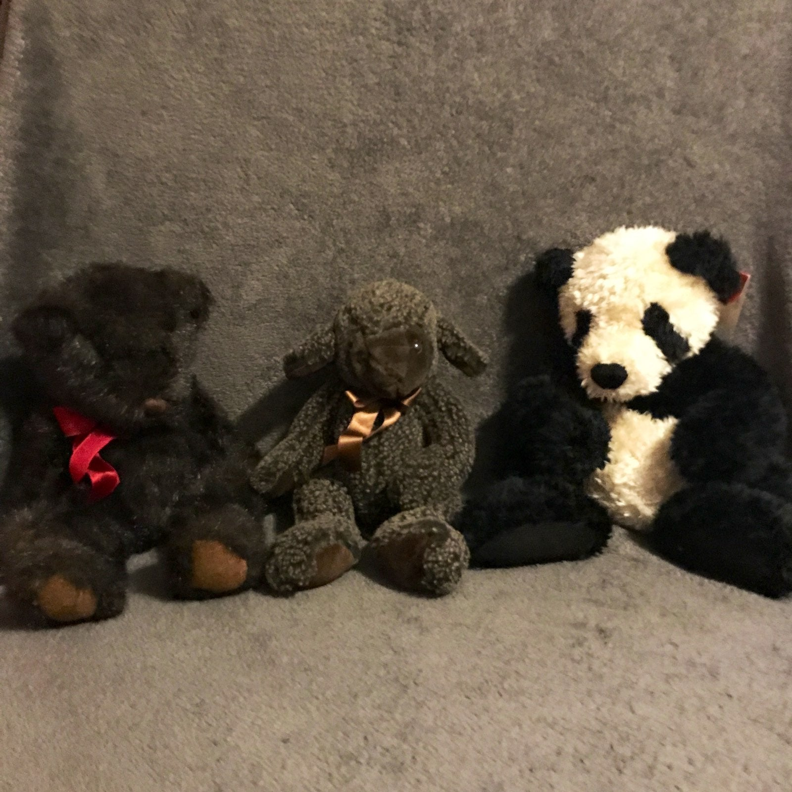 vintage Russ bears plush