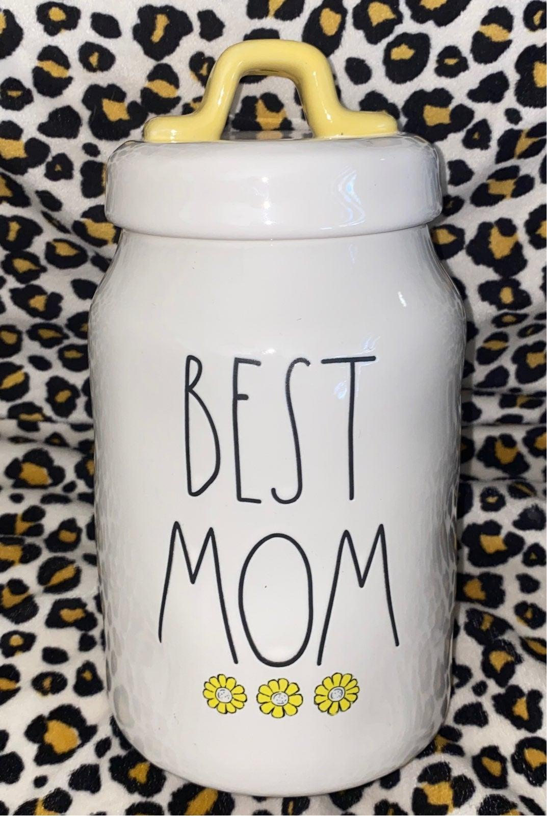 Rae Dunn Best Mom Canister