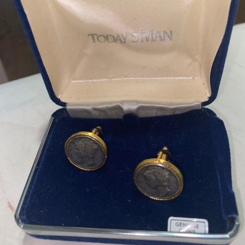 Genuine Coin CuffLinks