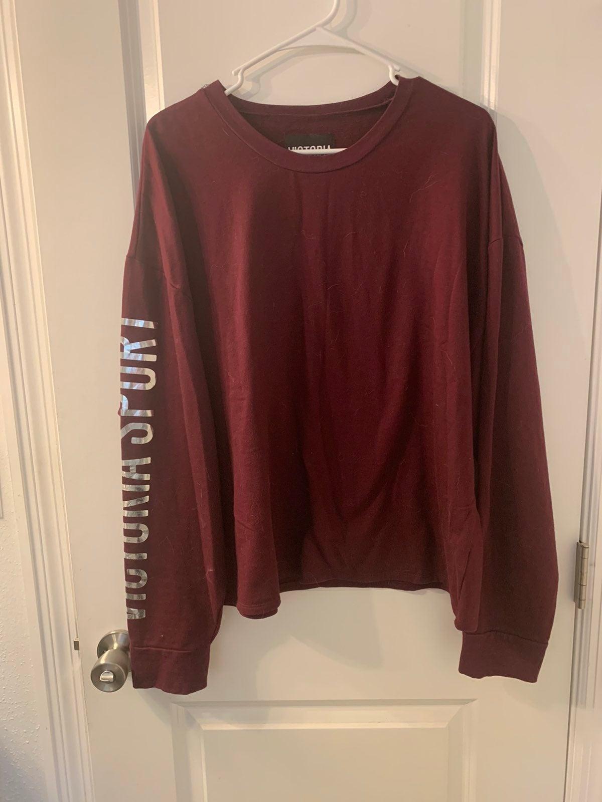 Womens crewneck sweater