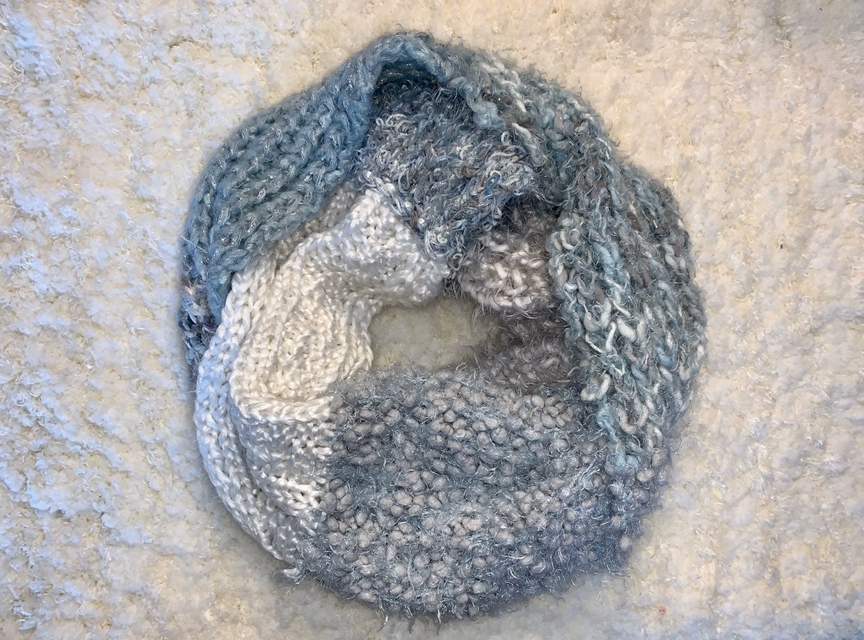 Sonoma Scarf blue and grey