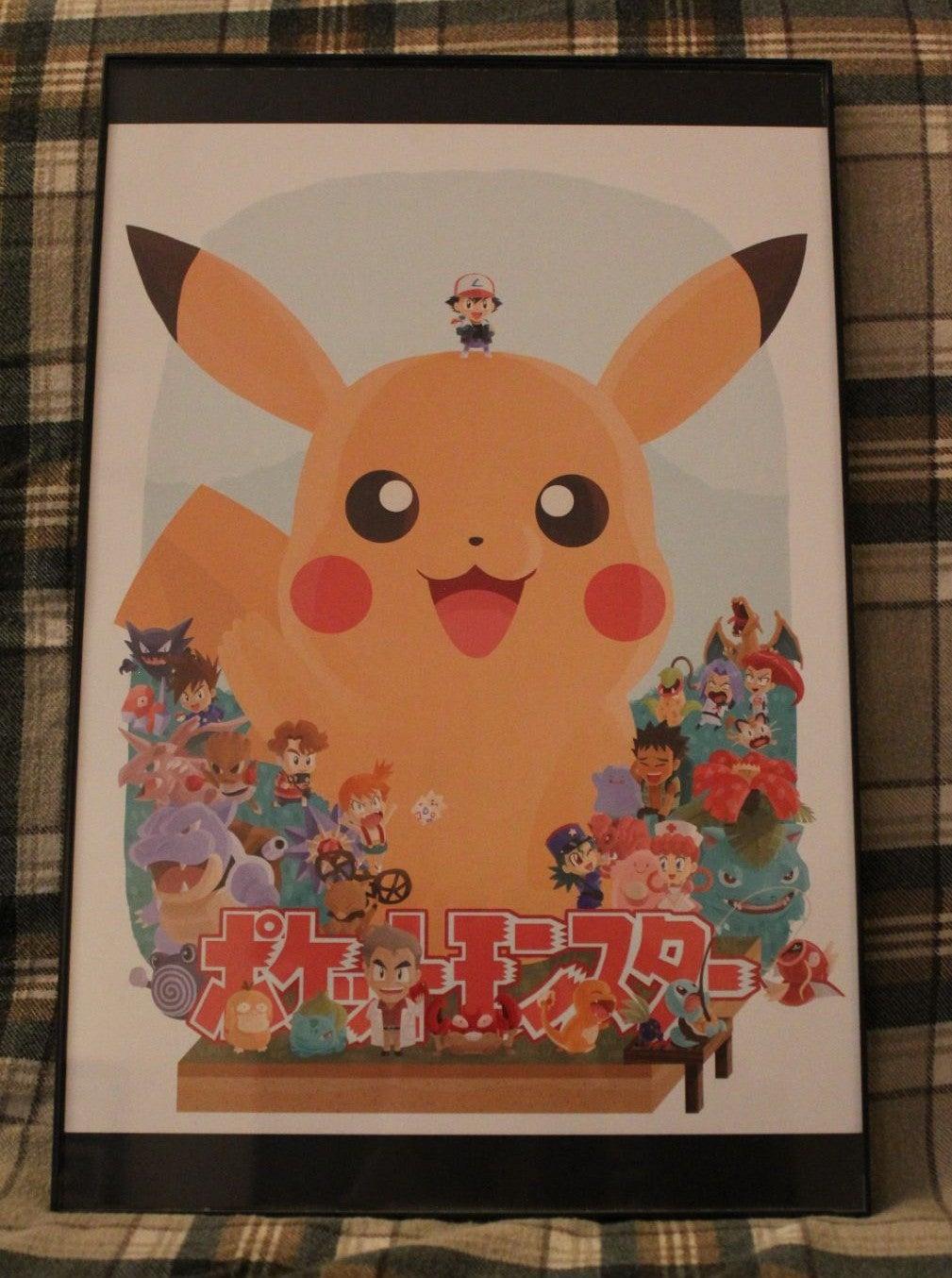 Pokémon Art Print