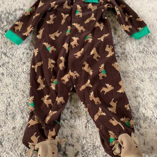 Baby boy clothes fleece sleeper