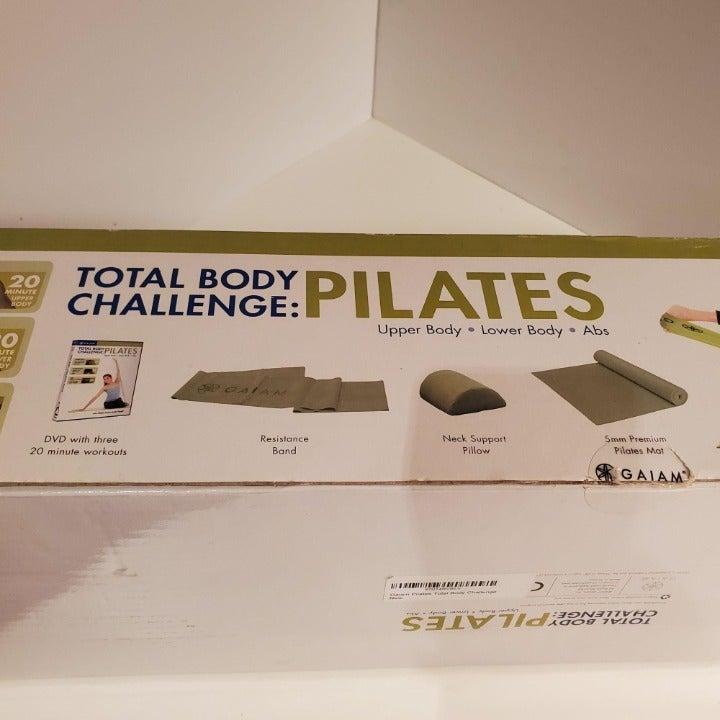 GAIAM Total Body Challenge Pilates DVD