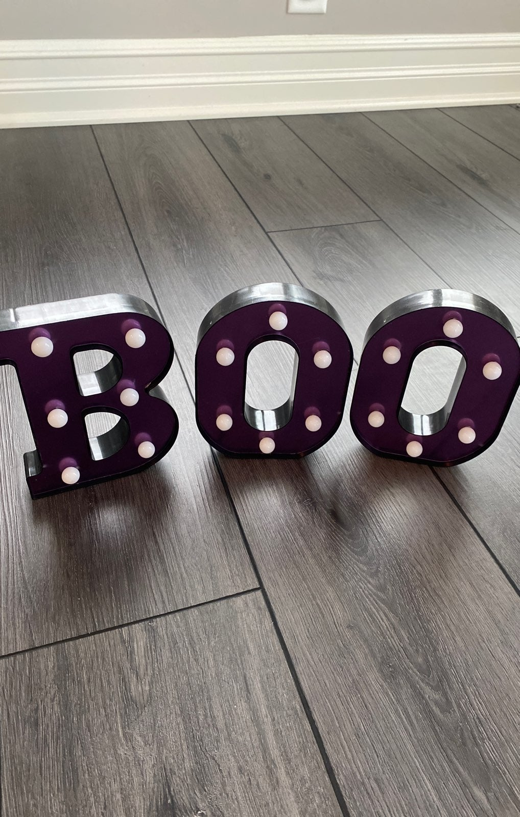 Brand new BOO Marquee Decoration
