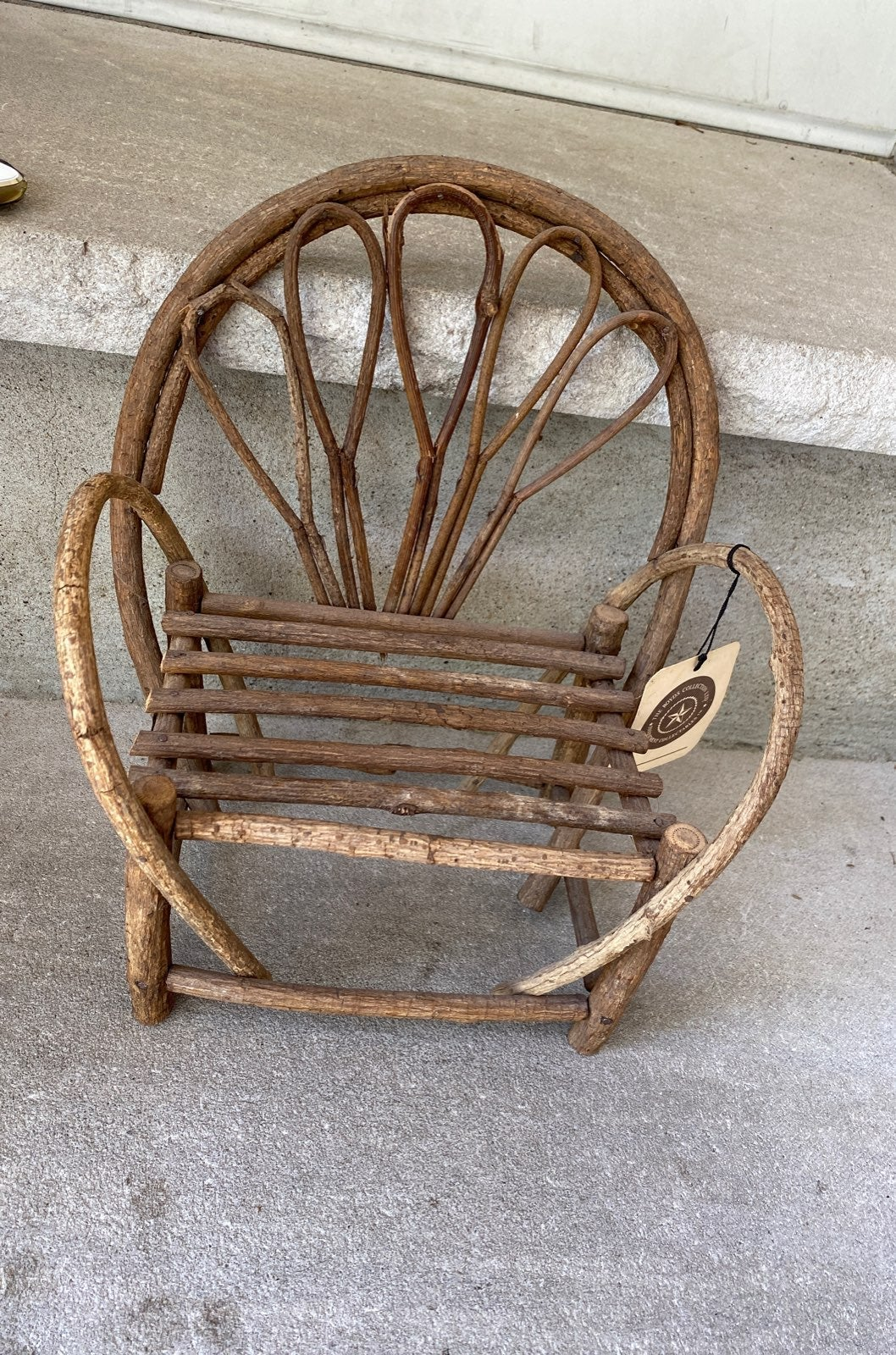 Boyds Bears wooden chair