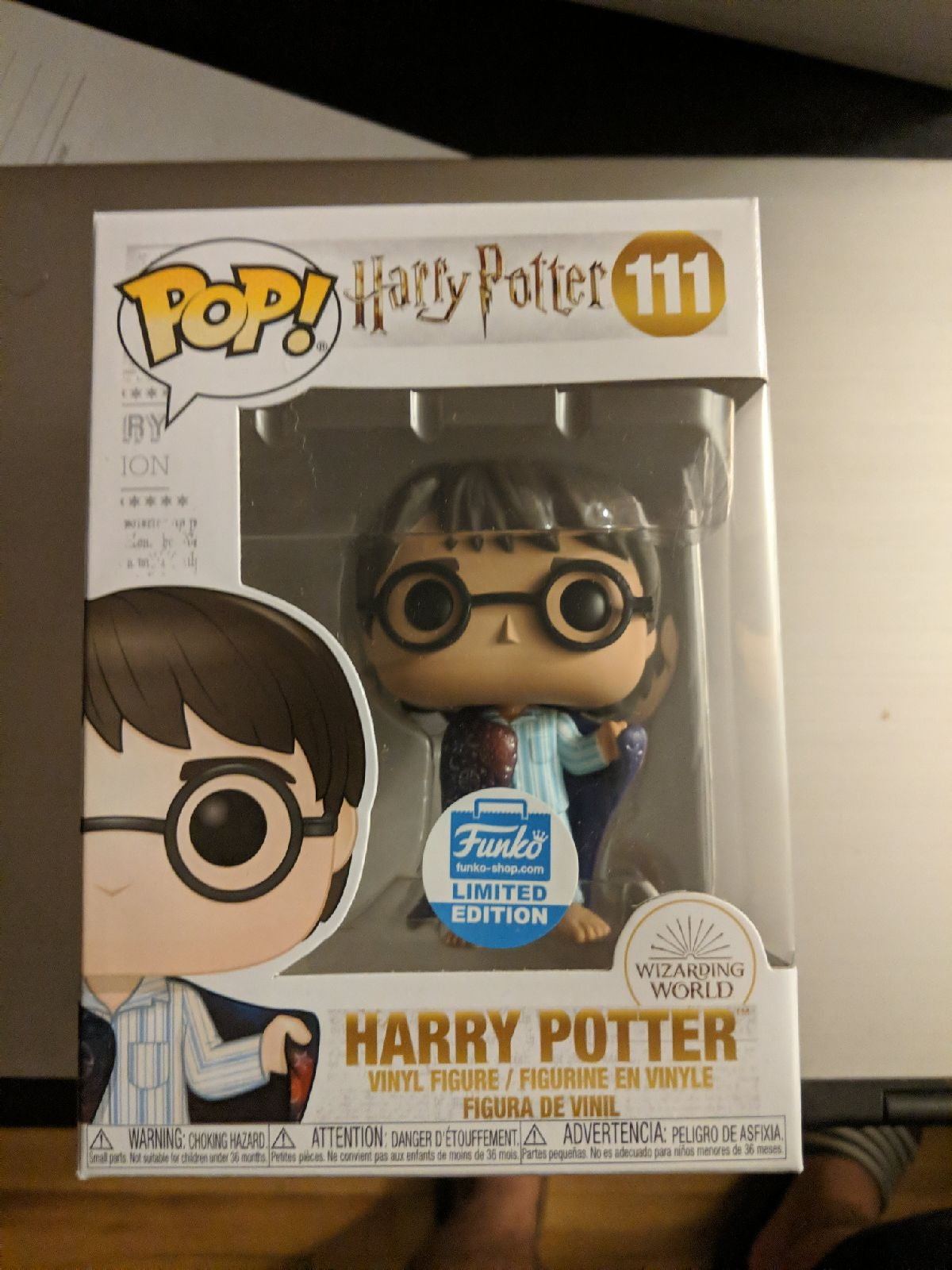 Harry Potter Invisbilty Cloak Funko Pop
