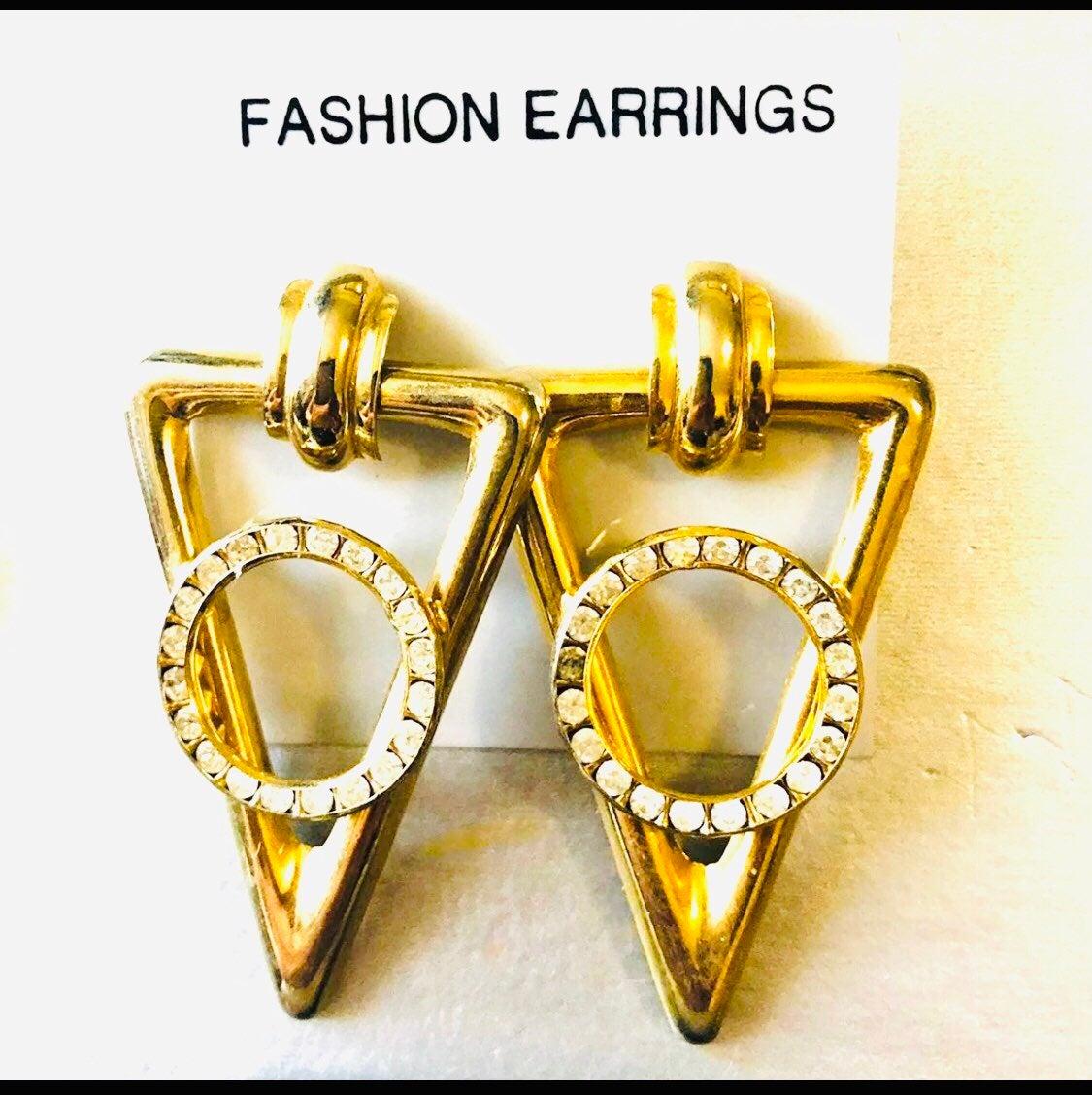 Vintage statement Earrings -
