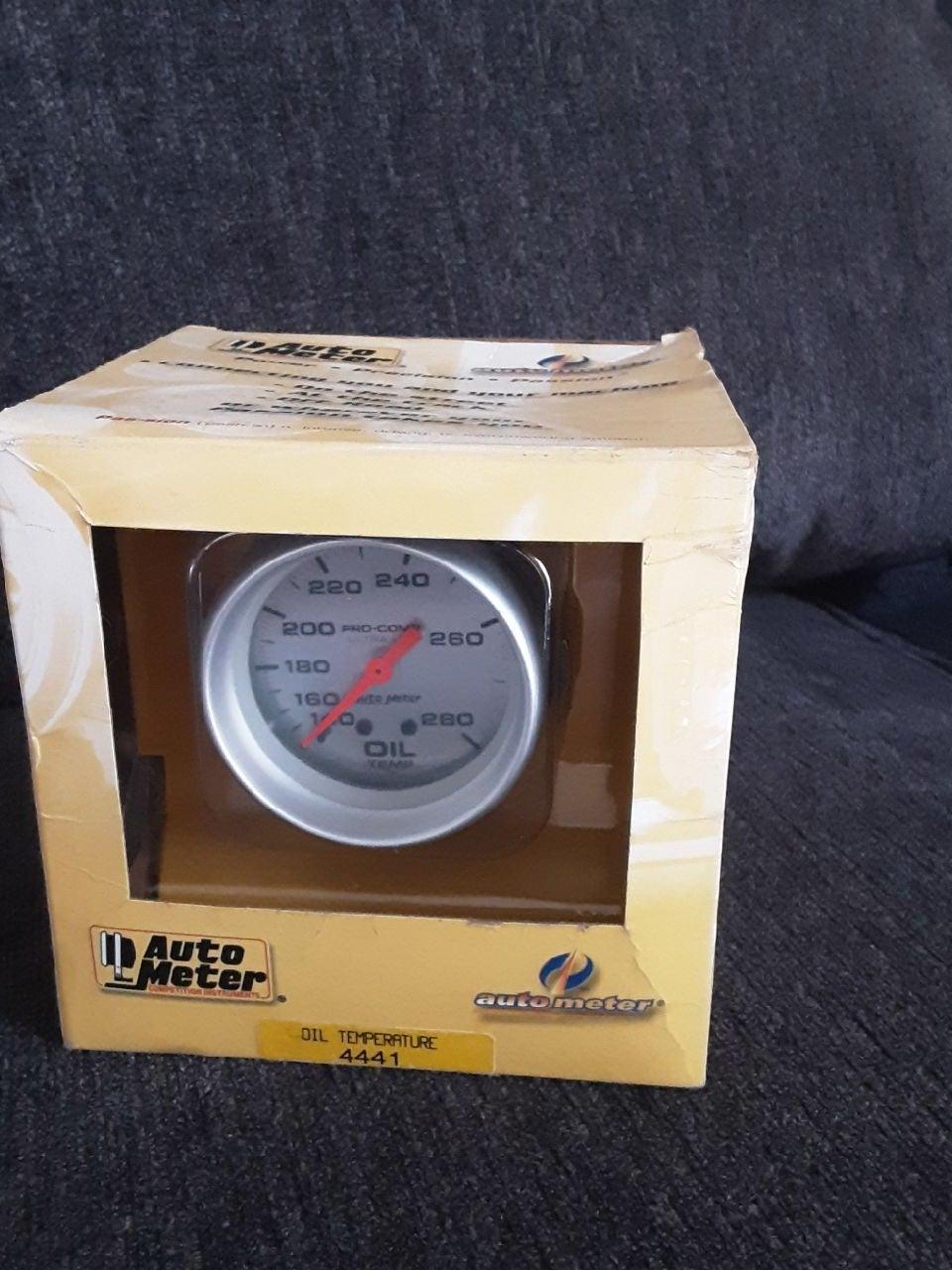 Auto Meter Oil Temperature Gauge