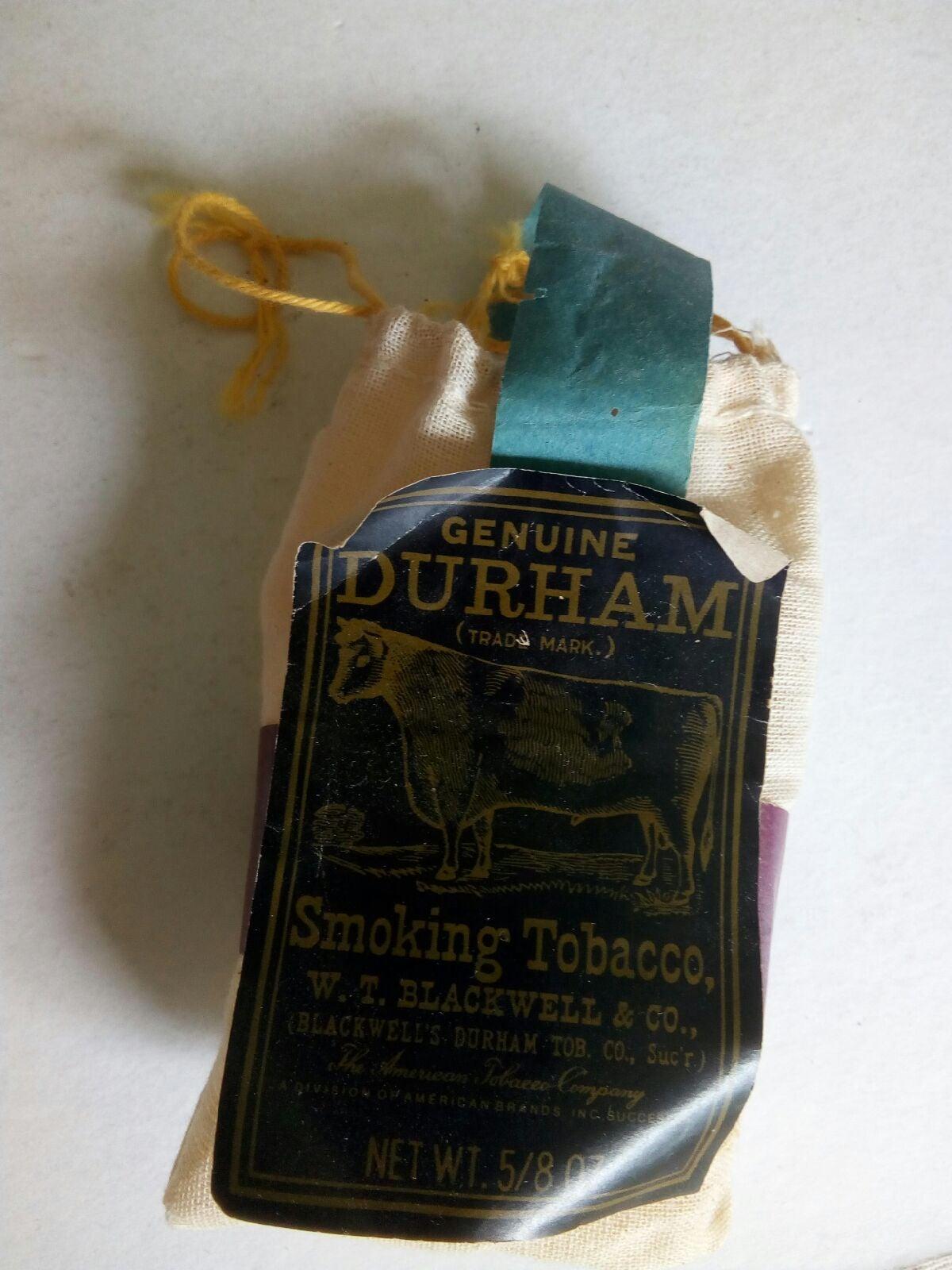 Vintage Genuine Durham Smoking Ephemera