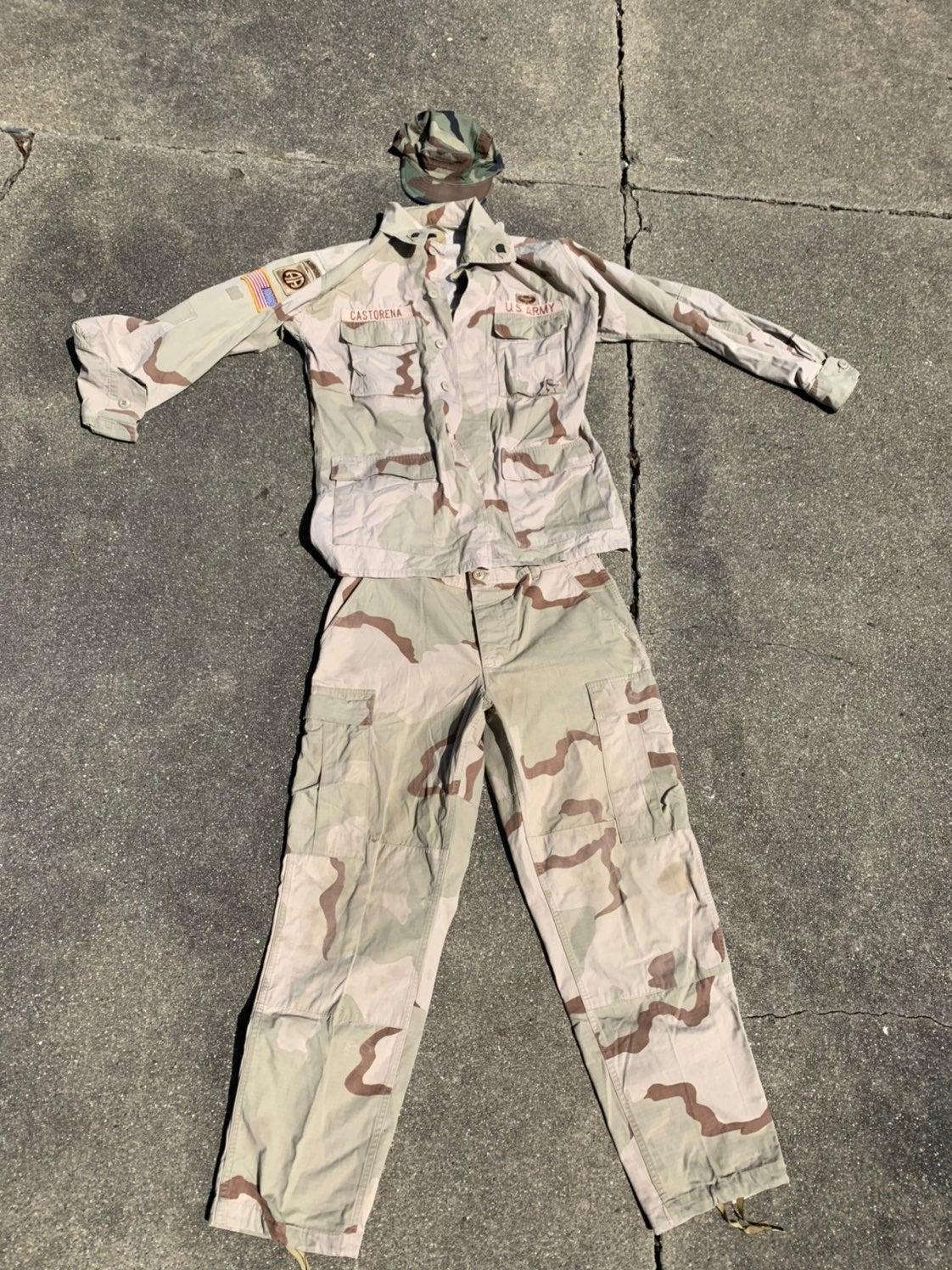 Used Military Airborne uniform - Medium