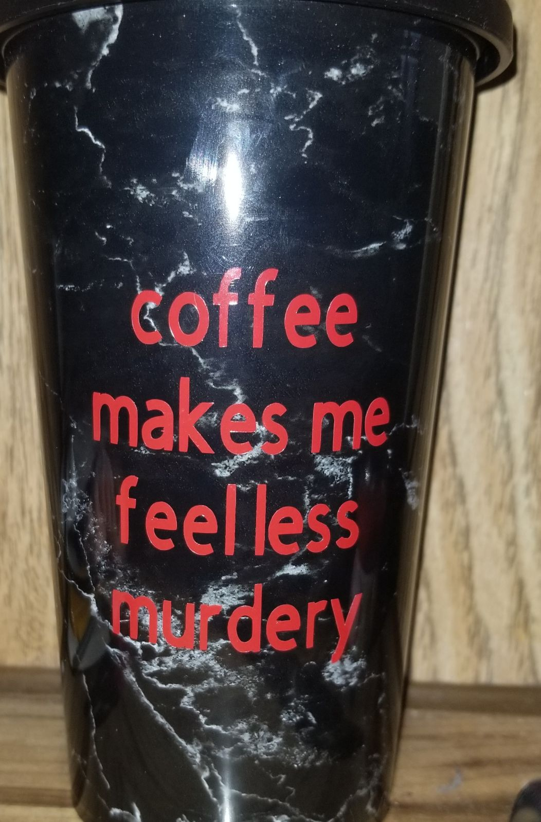 Coffee travel cup
