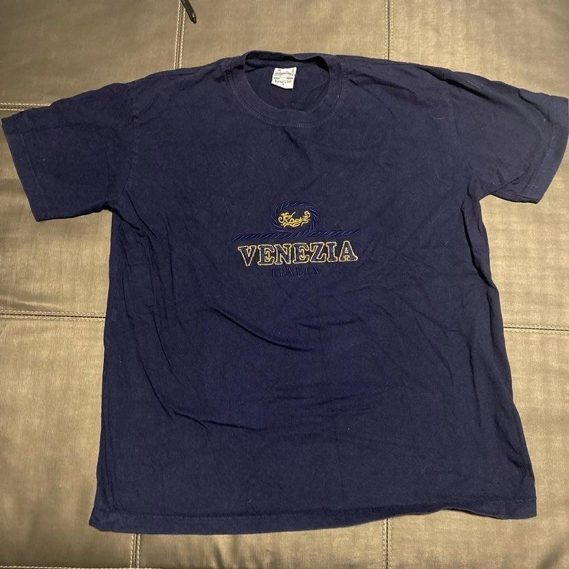 Venezia T shirt embroidered