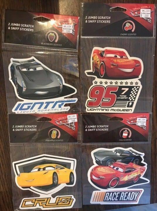 Disney Pixar CARS 3 Jumbo Scratch & Snif