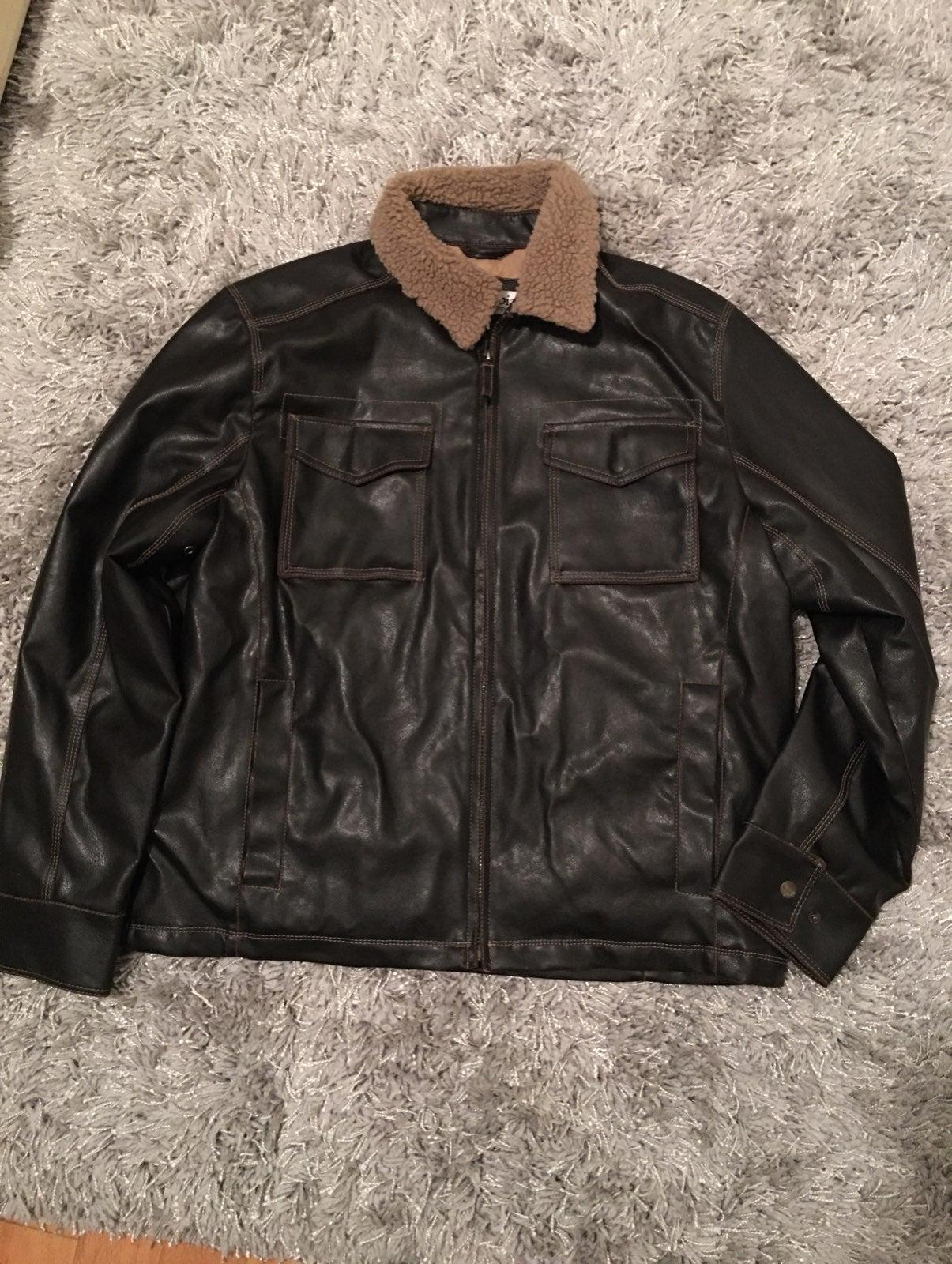 Columbia aviator style jacket mens large