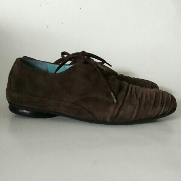 Thierry Rabotin rushed suede brown shoe