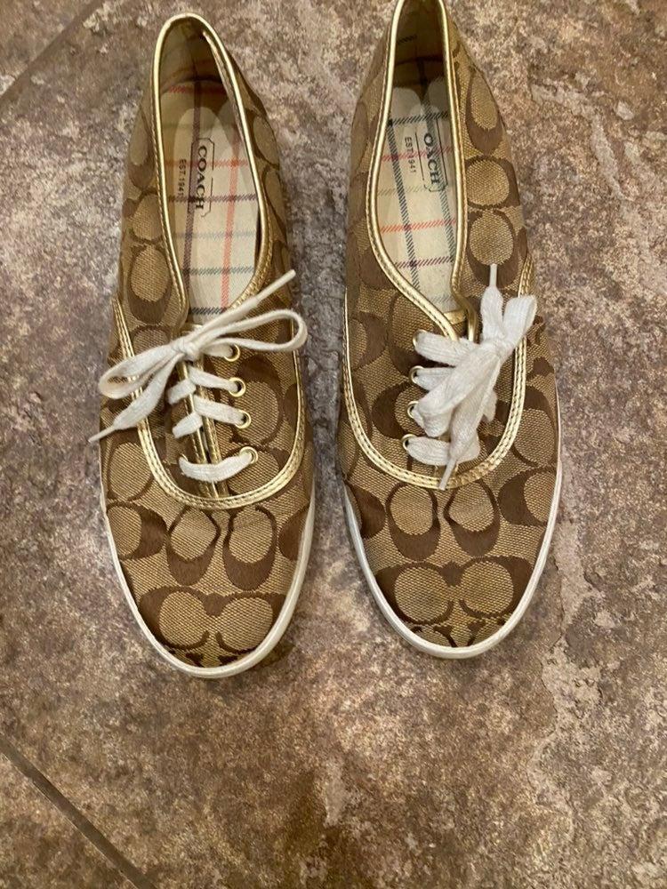 Coach Audrina Tennis Shoes 8.5