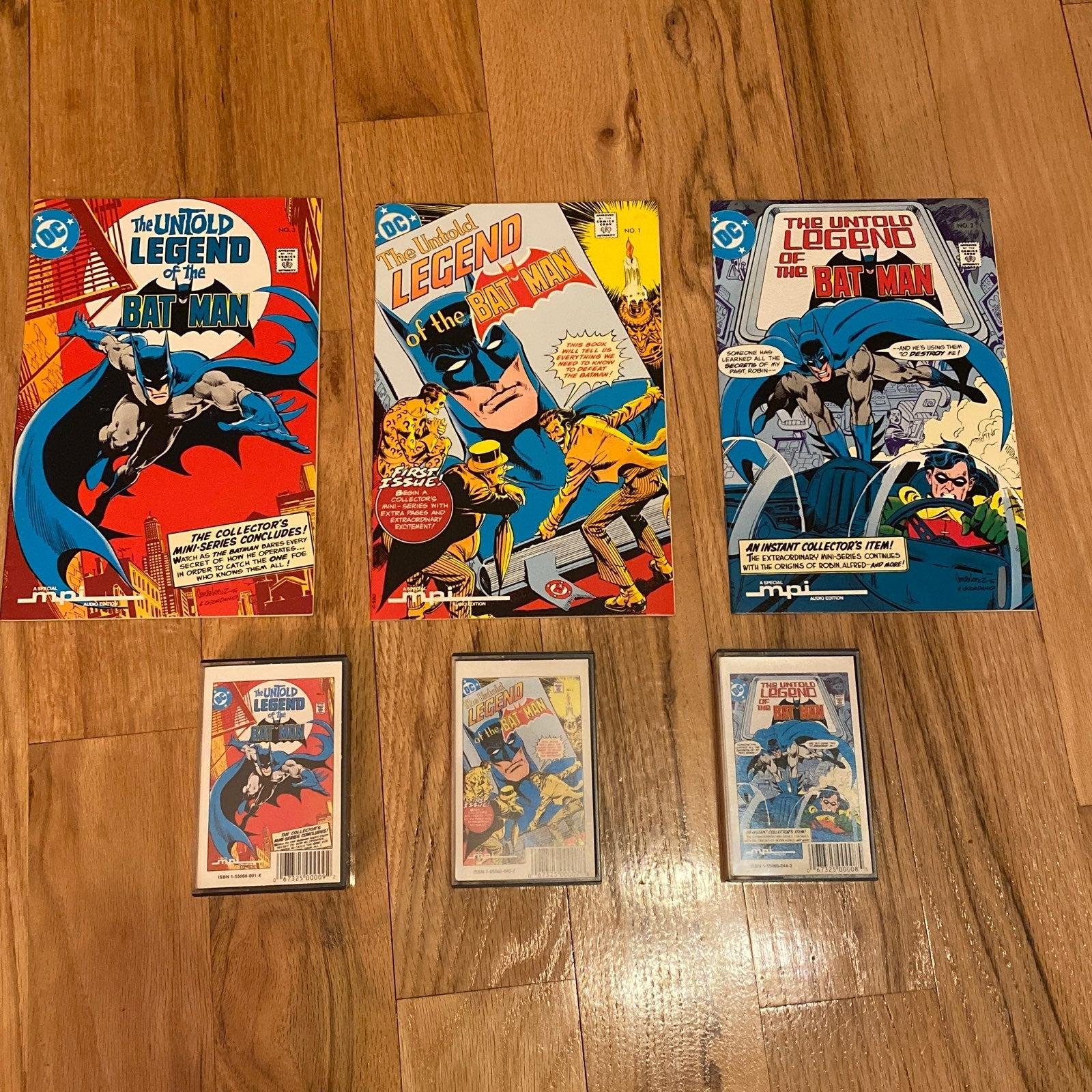 Untold Legend of the Batman (1980) 1-3