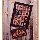 Quilt Pattern Sampler of Angels, Stars,