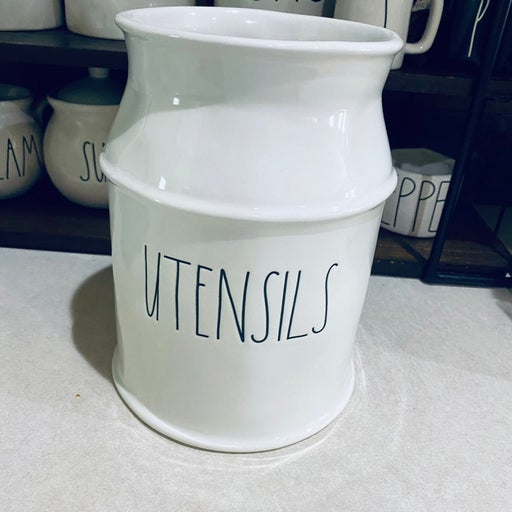 Rae Dunn UTENSILS milk jug caddy