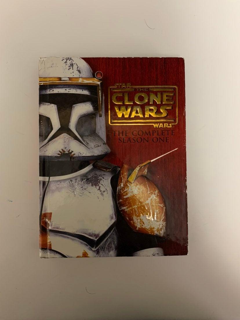 Star Wars The Clone Wars DVD set