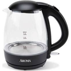 Aroma 1.2L Glass Kettle
