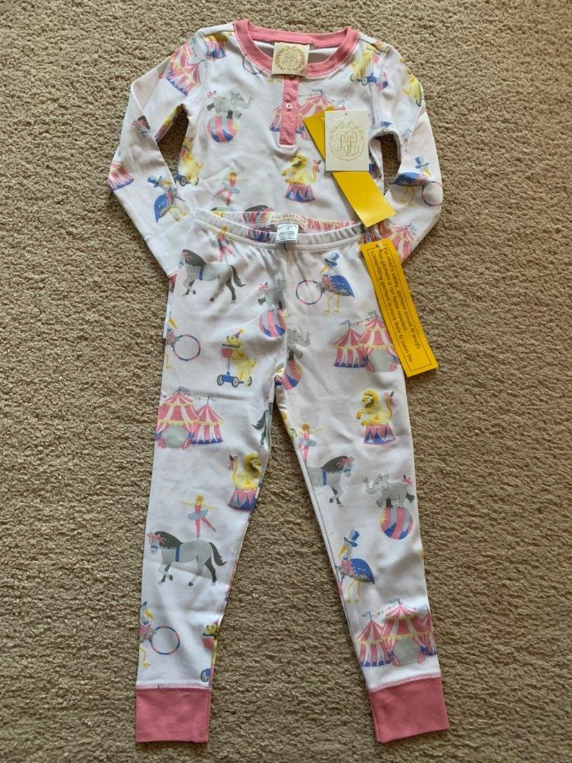 NWT TBBC 3t circus Pajamas