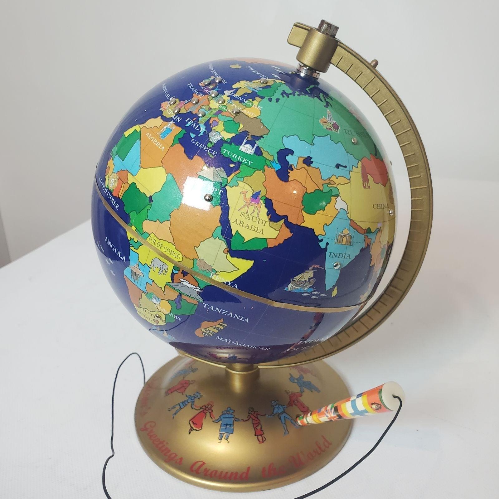 Mr. Christmas Talking Globe 22 Languages