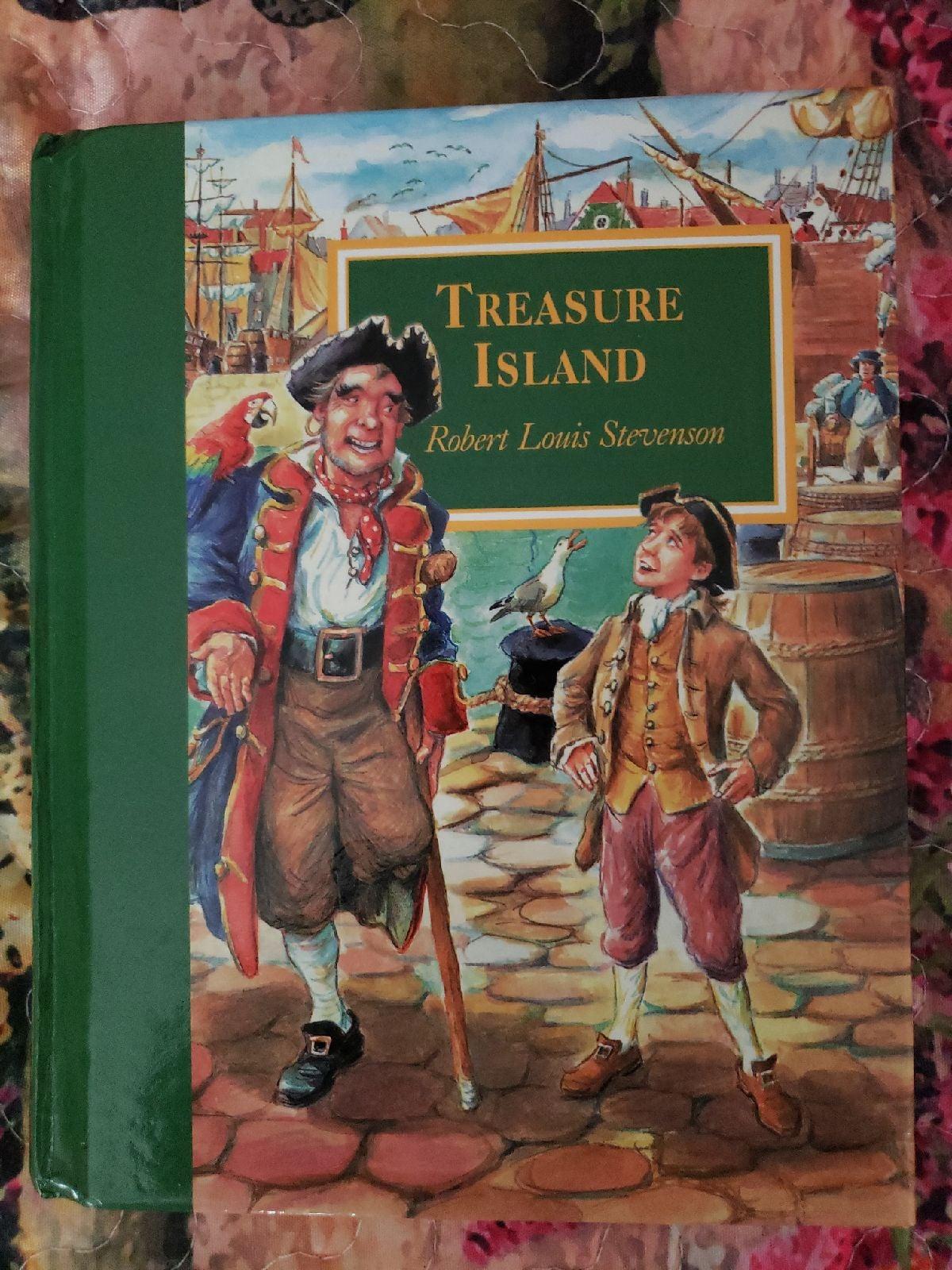Treasure Island Hardcover Book