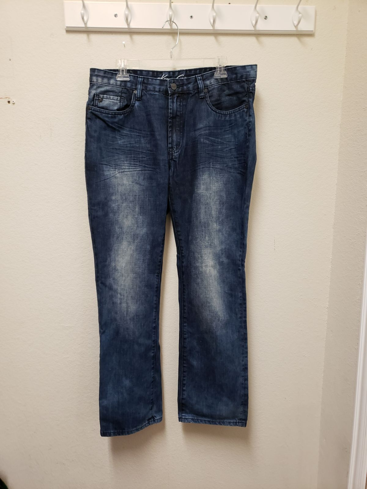 Men's Kenneth Cole NY Denim Jeans 34/30