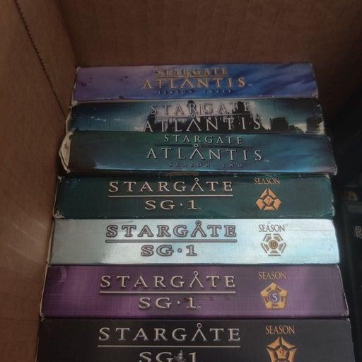 stargate season dvd bundle of 7