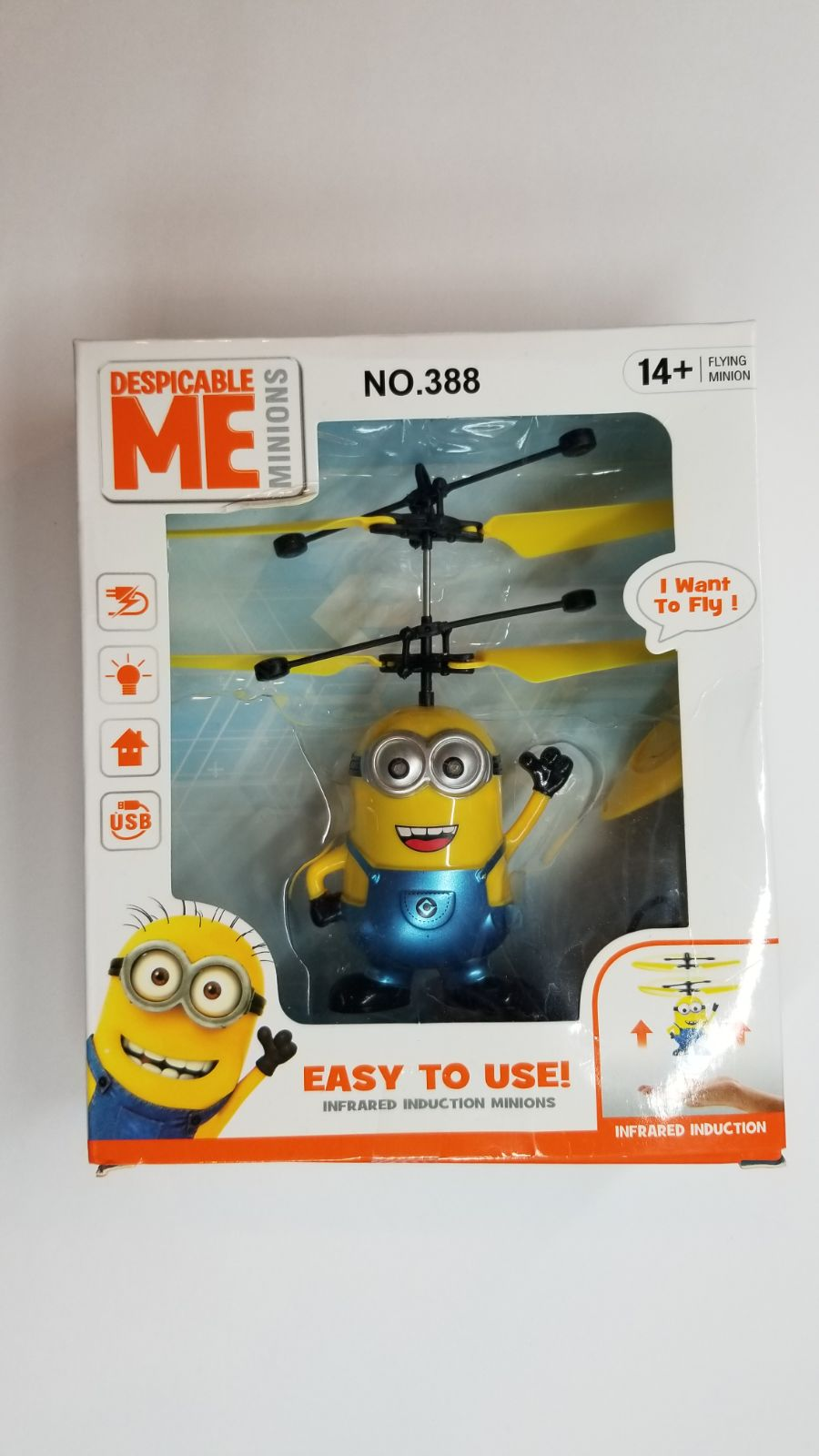 Despicable Me Flaying Minions