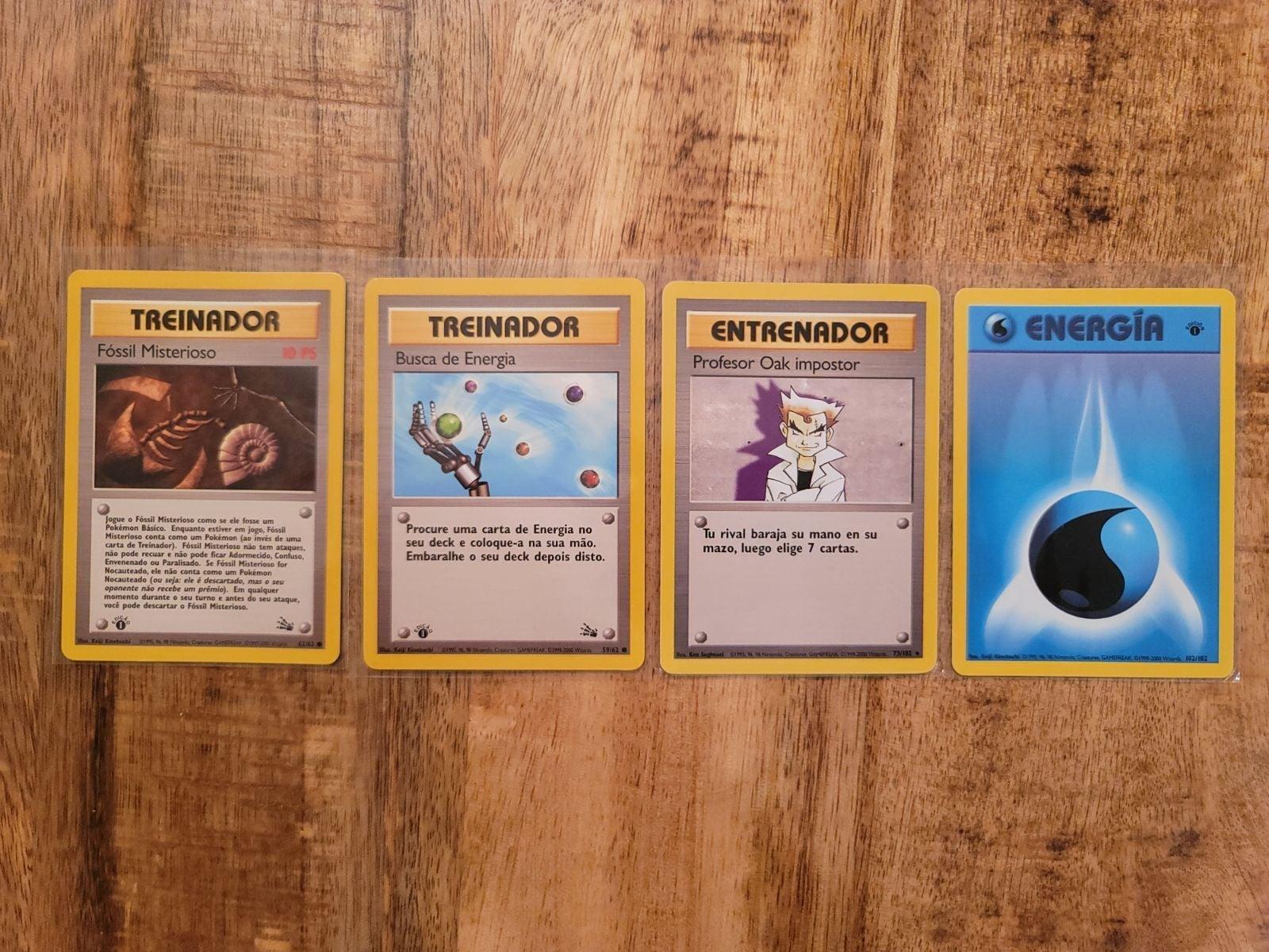 Pokemon cards 1st edition