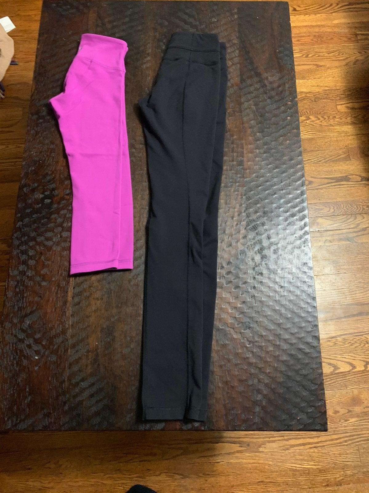 lululemon leggings size 4 bundel