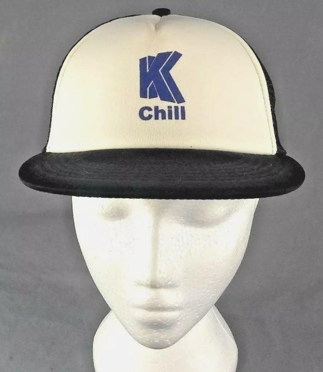K Chill trucker mesh snapback hat