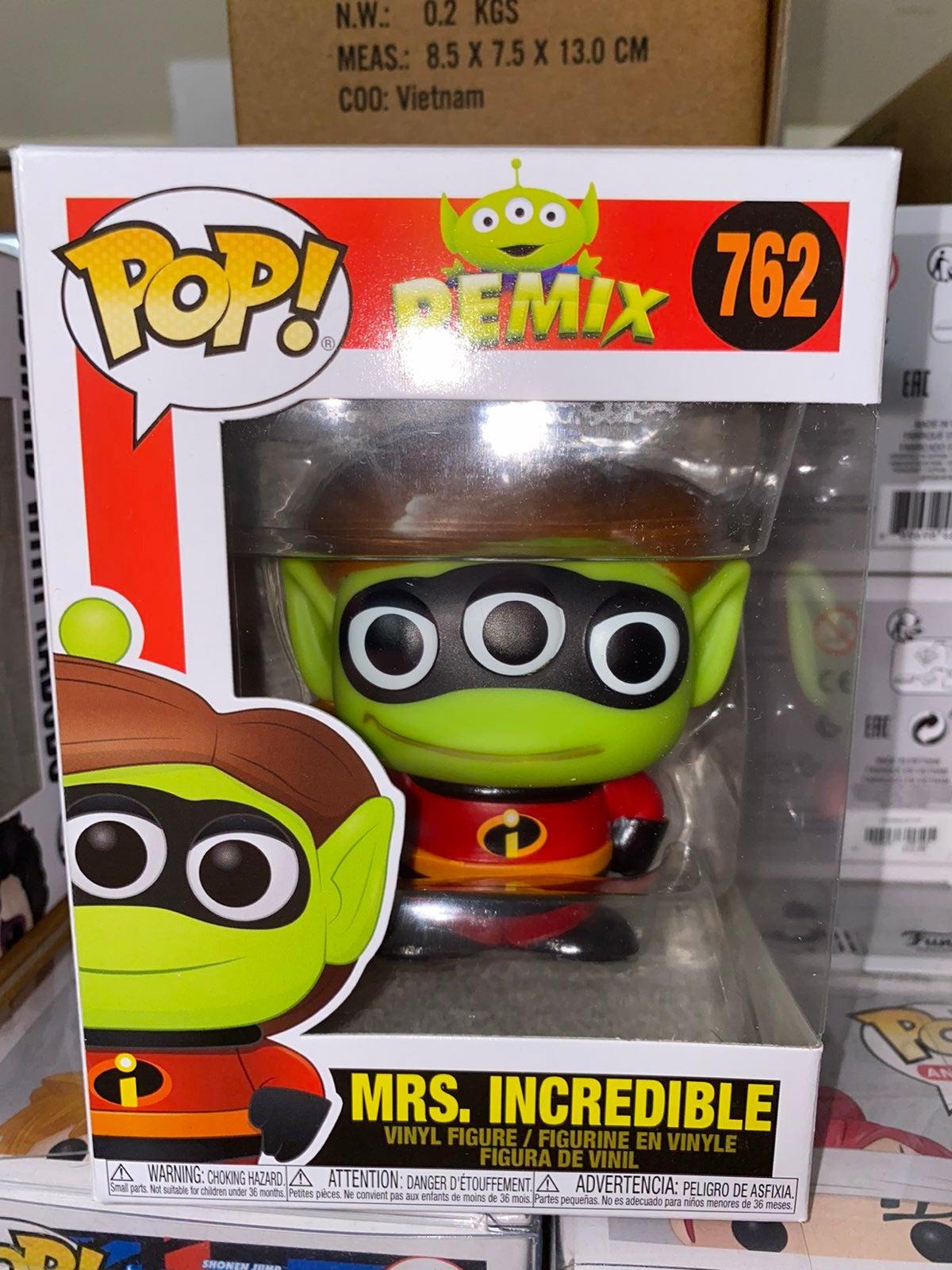 Alien Remix Mrs Incredible Funko Pop